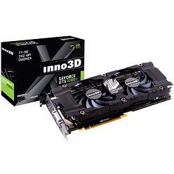 Grafička kartica Inno3D Video GeForce GTX 1080 Ti X2 11GB GDDR5X 352-bit 1480 11Gbps DVI+3xDP+HDMI