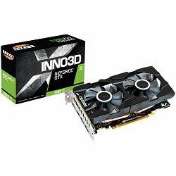 Grafička kartica INNO3D GeForce RTX 1660 Ti Twin X2 6GB GDDR6 192-bit 1770 GHz, 14Gbps, 3xDP+HDMI