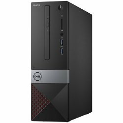 Računalo Dell Vostro 3470 Intel Core i3-8100 Processor (6MB Cache, up to 3.6 GHz), 4GB (1X4GB) DDR4 2400MHz, 1TB 7200RPM HDD, Integrated Intel UHD 630, DVDRW, TMP, K+M, Linux