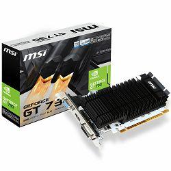 Grafička kartica MSI GeForce GT 730 GDDR3 2GB/64bit, PCI-E 2.0 x16, HDMI,DVI, VGA, Retail