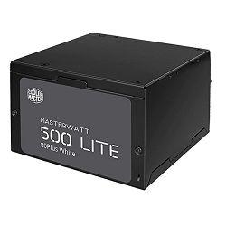 Napajanje 500W, COOLERMASTER MasterWatt Lite 500, MPX-5001-ACABW-EU, ATX v2.31, 120mm vent., PFC, 80+