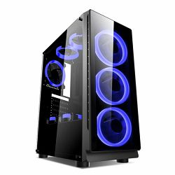 Kućište NaviaTec Gaming Case 4xLED Color Ventilators, 2x USB 2.0, 1 USB3.0