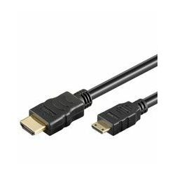#177 NaviaTec HDMI A-plug to Mini HDMI C-plug 2m w Ethernet