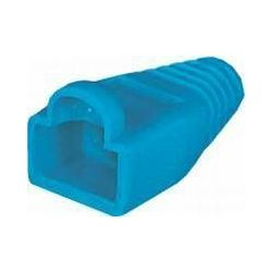NaviaTec Strain Relief for Western 8 8-plug blue 10pc