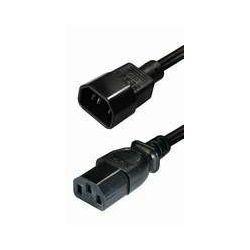 #166 NaviaTec IEC 320 C14 plug - IEC 320 C13 jack 1,5m