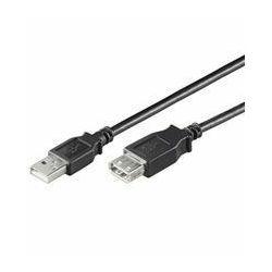 NaviaTec USB 3.0 A plug to A jack 5m Black