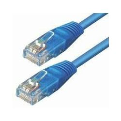 #270 NaviaTec cat5e UTP 0,25m blue