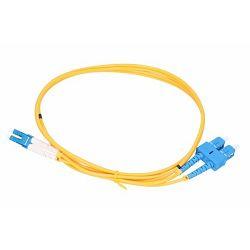 NFO Patch cord, SC UPC-LC UPC, Singlemode 9 125, G.657A1, duplex, 1m