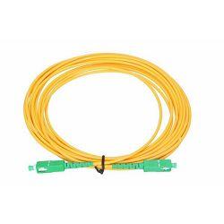 NFO Patch cord, SC APC-SC APC, Singlemode 9 125, G.657A2, Simplex, 2mm, LSZH, 10m