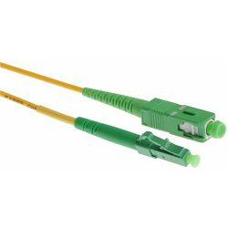 NFO Patch cord, LC APC-SC APC, Singlemode 9 125, G.657A2, Simplex, 3m
