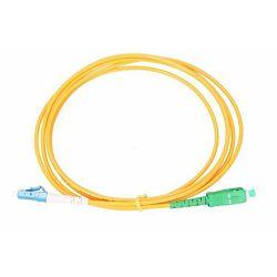 NFO Patch cord, LC UPC-SC APC, Singlemode 9 125, G.652D, Simplex, 15m