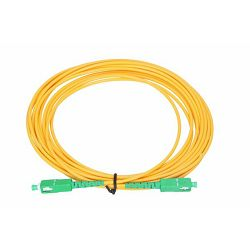 NFO Patch cord, SC APC-SC APC, Singlemode 9 125, G.652D, Simplex, 3m