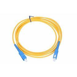 NFO Patch cord, SC UPC-SC UPC, Singlemode 9 125, G.657A1, Simplex, 5m