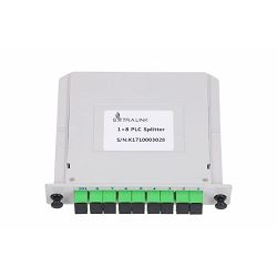 NFO Fiber Optic PLC Splitter, 1:8, Slot Type, SM, SC APC