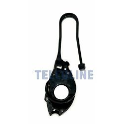 NFO Clamp for round and flat DROP cables 2-5 mm, 900N