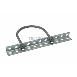 NFO 11-hole crossbar (bracket) with mounting for round pole