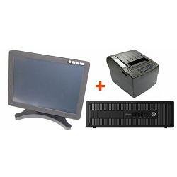 POS komplet Pentium računalo touch monitor POS 80mm printer