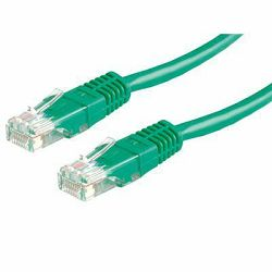 NaviaTec Cat6 UTP 0,25m green