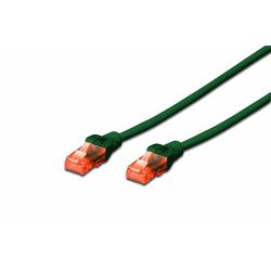 Digitus 1m CAT 6 UTP patch cable, zeleni