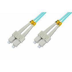 Digitus SC-SC MM Duplex OM3 Fiber Patch Cord 1m