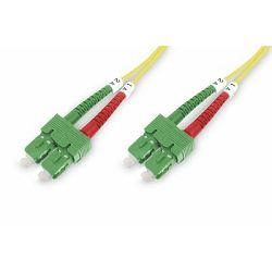 Digitus FO patch cord, duplex, SC (APC) to SC (APC) SM OS2 09 125 µ, 5 m