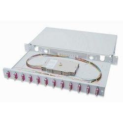Digitus Professional Fiber Optic Splice Box, Equipped, 12x SC, OM4 MM