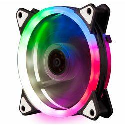 Ventilator NaviaTEC PC Case Fan 120mm, Colorful LED