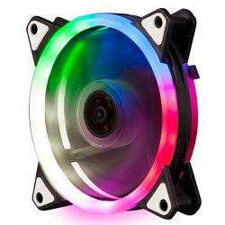 NaviaTec PC Case RGB Fan 12V 6pin power connector, 120mm