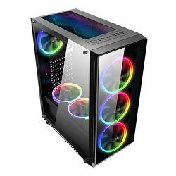 Kućište NaviaTec Gaming case with 4x RGB Fans