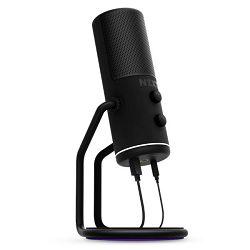 NZXT Capsule, mikrofon, crni, USB