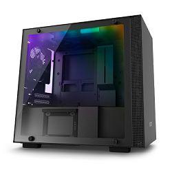 Kućište NZXT H200i crno bez napajanja, ITX