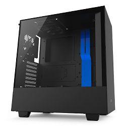 Kućište NZXT H500 crno/plavo, bez napajanja, ATX