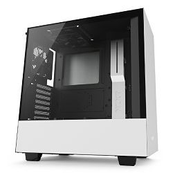 Kućište NZXT H500 bijelo bez napajanja, ATX