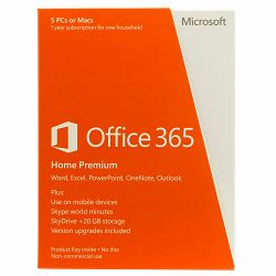 Office 365 Home 32/64x Eng 1y Medialess