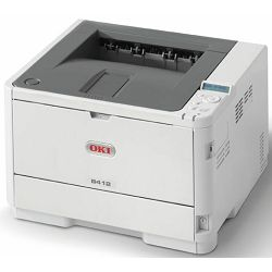Printer Oki B412dn 33s/m, 1200x1200, USB+LPT+eth.