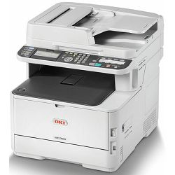 Printer Oki MC363dn print,scan,copy,fax, 26,30 str., dupl.