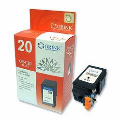 Zamjenska tinta Canon fax BC20, BX20, crna Orink