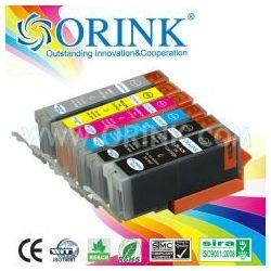 Zamjenska tinta Canon CLI-551BK XL,crna (s mikročipom) Orink