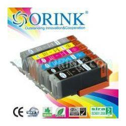 Zamjenska tinta Orink Canon CLI571C, XL crvena (s mikročipom)