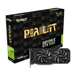 Grafička kartica Palit GTX1060 Dual, 6GB GDDR5