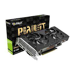 Grafička kartica Palit GF GTX1660Ti Dual, 6GB GDDR6