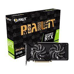 Grafička kartica Palit GF RTX2060Super Dual, 8GB