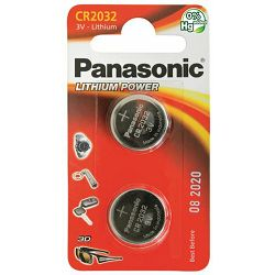 PANASONIC baterije male CR-2032EL, 2B