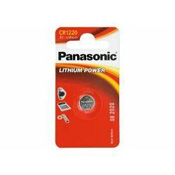 PANASONIC baterije CR-1220EL/1B