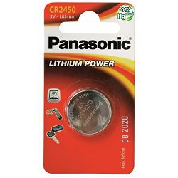 PANASONIC baterije male CR-2450EL,1B