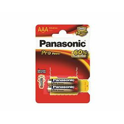 PANASONIC baterije LR03PPG,2BP Alkaline Pro Power