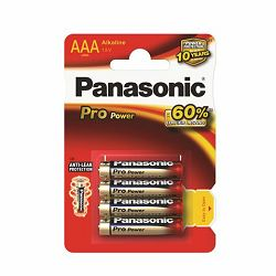 PANASONIC baterije LR03PPG,4BP Alkaline Pro Power