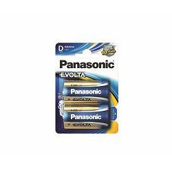 PANASONIC baterije LR20EGE, 2BP Evolta