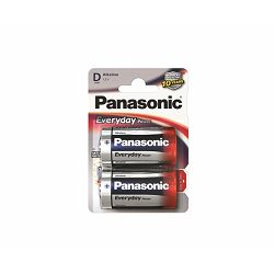 PANASONIC baterije LR20EPS,2BP Alkaline Everyday Power