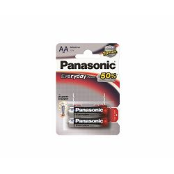 PANASONIC baterije LR6EPS, 2BP Alkaline Standard Power